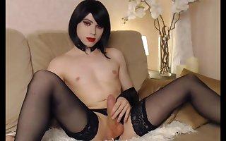 CD Brunette Beauty On Webcam