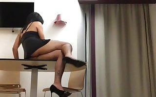 Kathy exhib in a Hotel 1