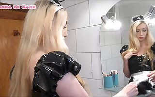Sasha is a Sissy Toilet Maid