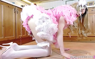 Day in the Life of a Sissy, Part 1 - Humiliation Whore Maid