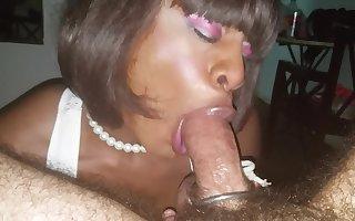 sensual ts blowjob