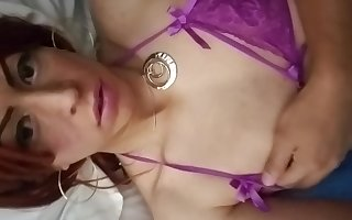 In bed a little wet ;)